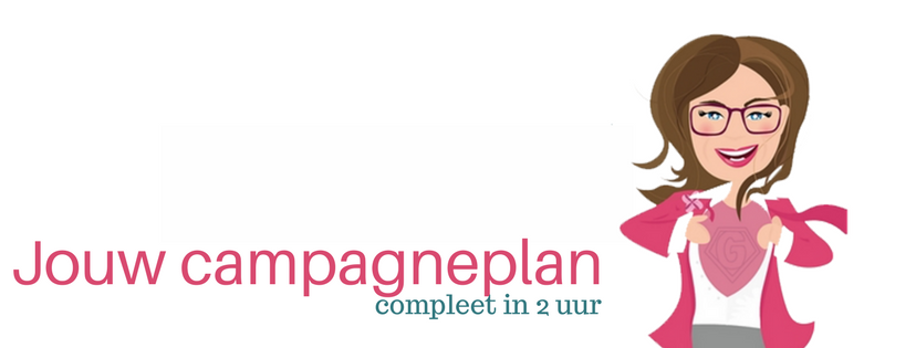Jouw campagneplan compleet in 2 uur